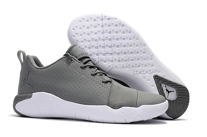 New Air Jordan Breakthrough Grey White Basketball Shoes