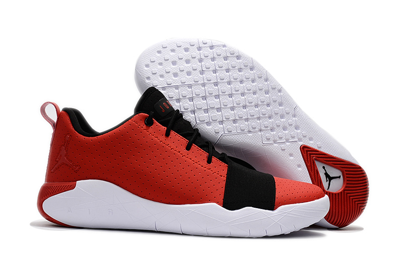 New Air Jordan Breakthrough Red Black White Basketball Shoes