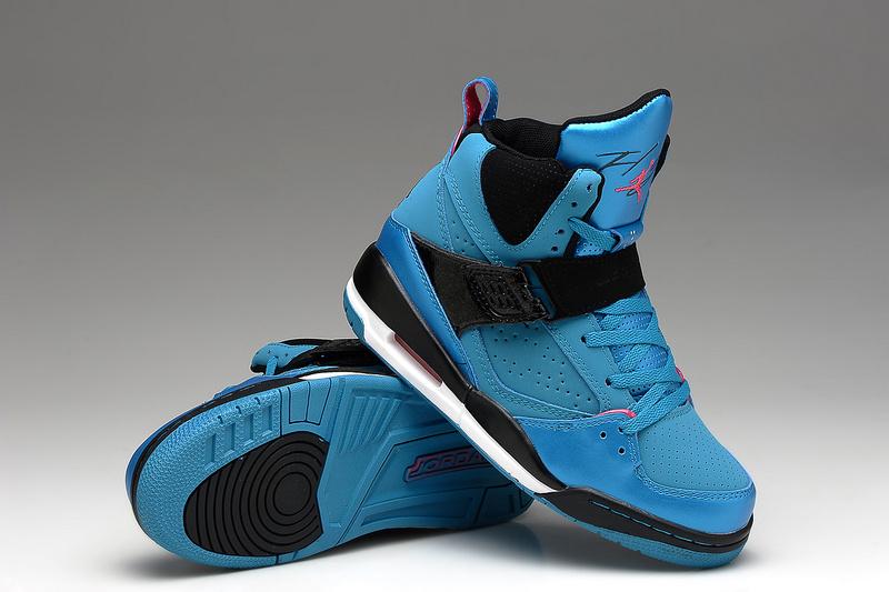 New Air Jordan Flight 4.5 Blue Black Shoes