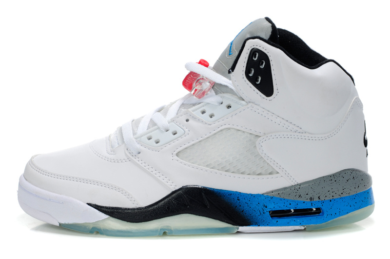 Jordan 5 Retro White Blue White