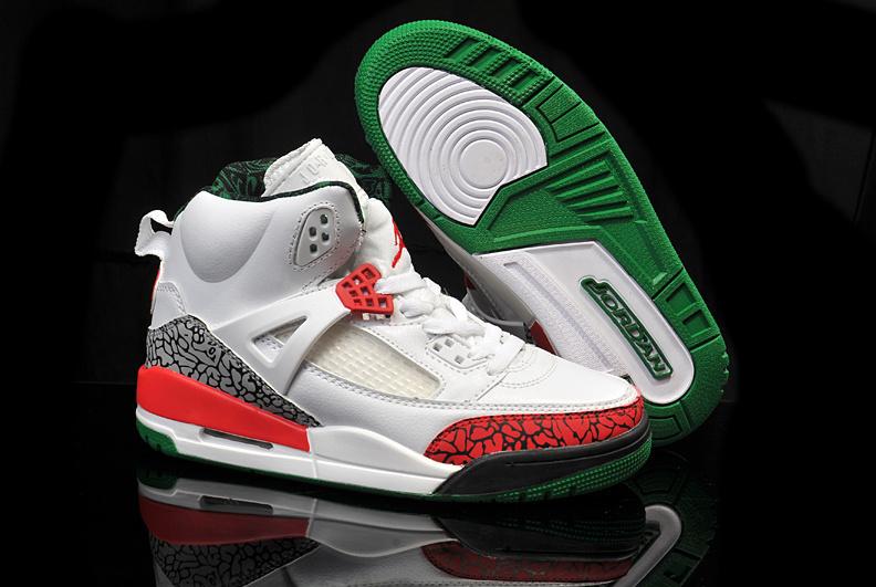 New Air Jordan3.5 White Grey Red For Women
