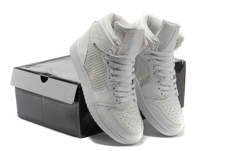 New Arrival Jordan 1 Retro All Grey Shoes