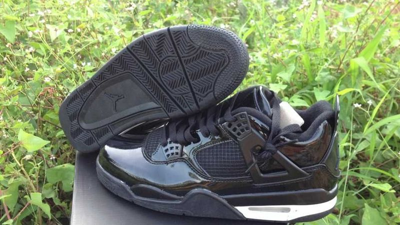 New Arrival Jordan 4 Retro All Black Shoes