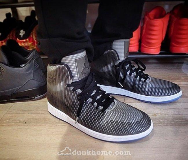 New Jordan 4LAB1 Black Grey Shoes