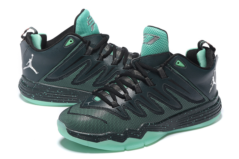 New Jordan CP3 IX Black Green Shoes