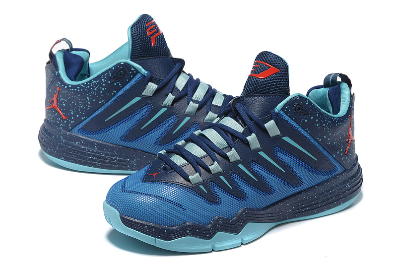 New Jordan CP3 IX Blue Red Shoes
