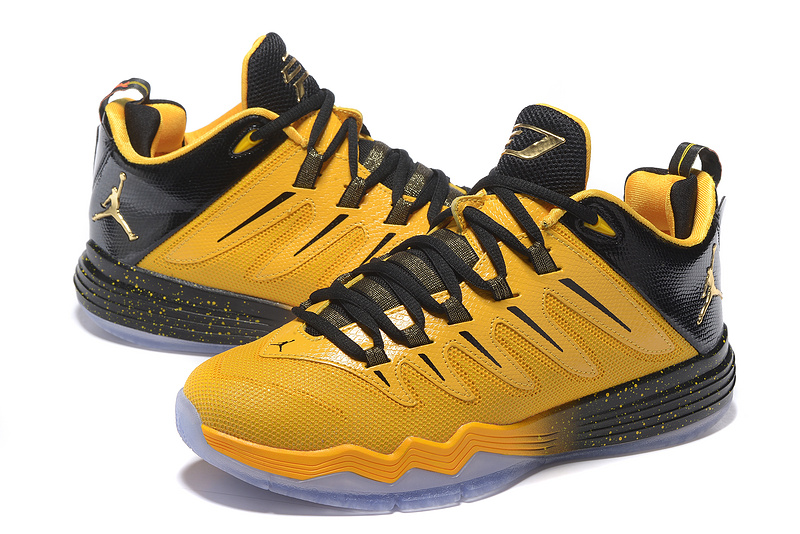 New Jordan CP3 IX Yellow Black Shoes