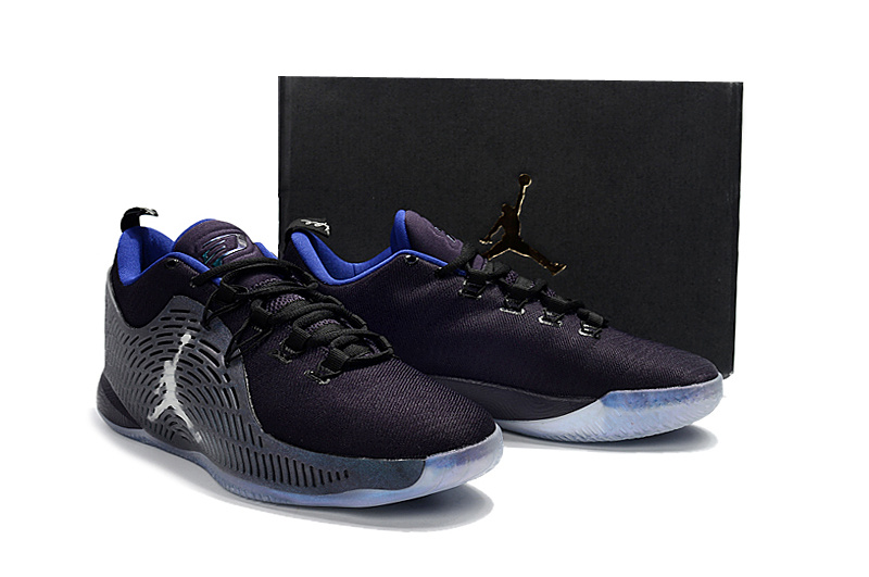 New Jordan CP3 X Chameleon Blue Shoes