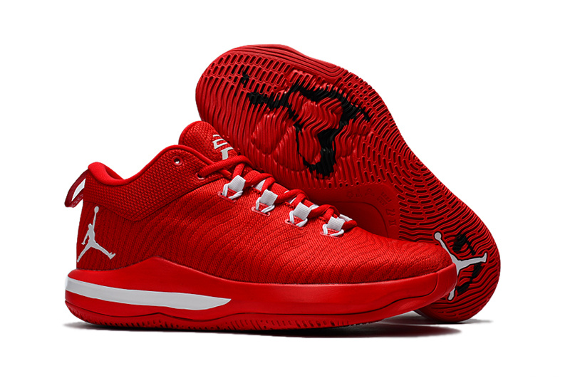New Jordan CP3 X Elite All Red White Shoes