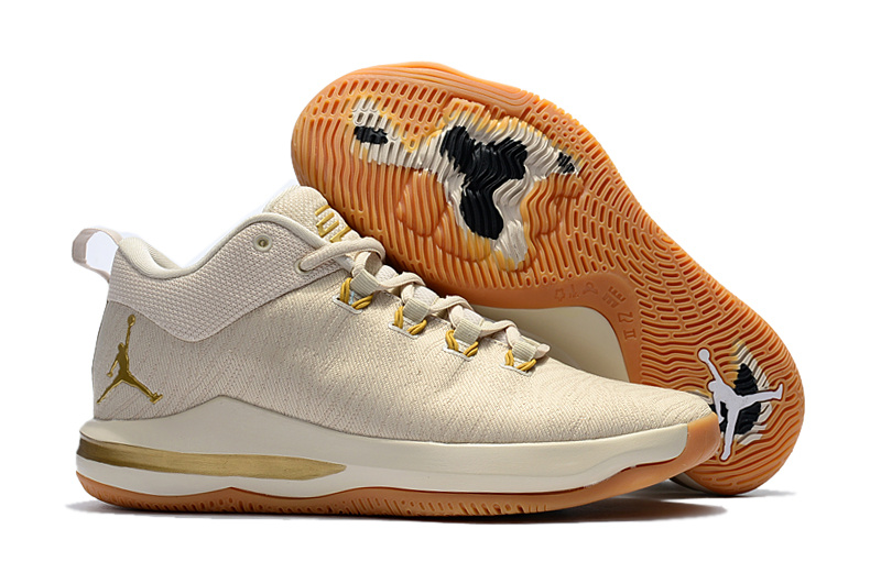 New Jordan CP3 X Elite Beige Shoes