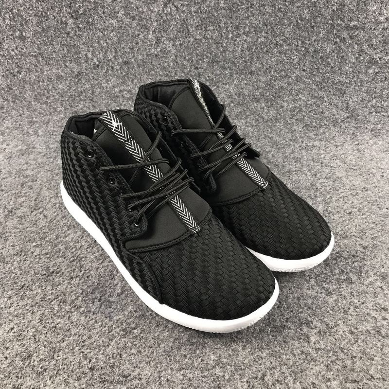 New Jordan Eclipse 3 Knit All Black White Lover Shoes