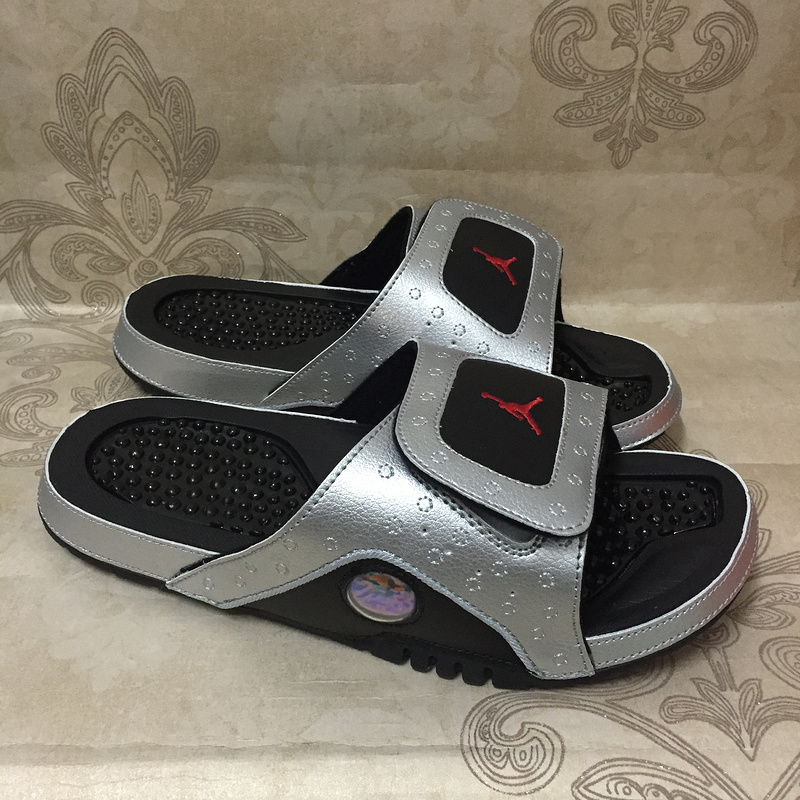 New Jordan Hydro XIII Retro Silver Black Red