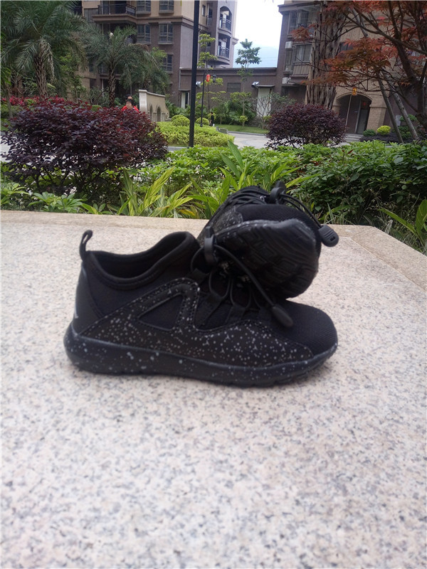 New Jordan Mesh All Black Shoes For Kids