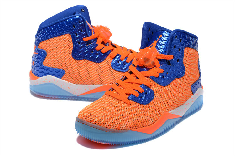 New Jordan Spizike 2 Orange Blue Shoes