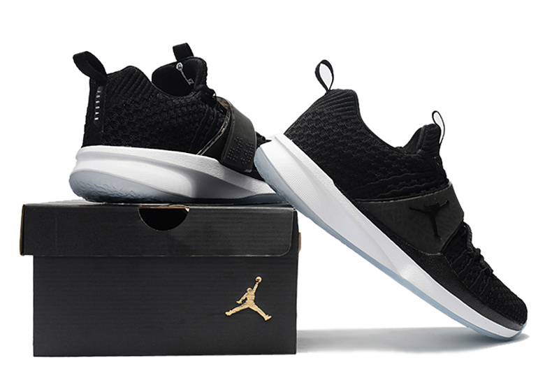New Jordan Trainer II Black White