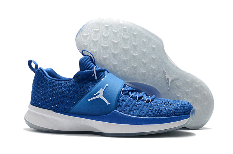 New Jordan Trainer II Blue White