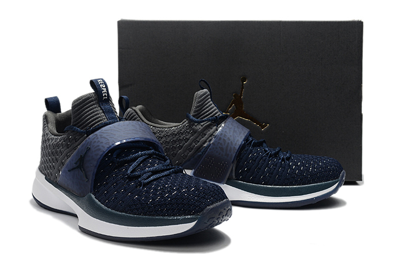 New Jordan Trainer II Deep Blue Black