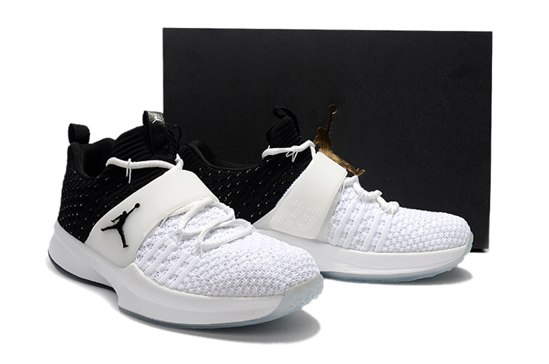 New Jordan Trainer II White Black