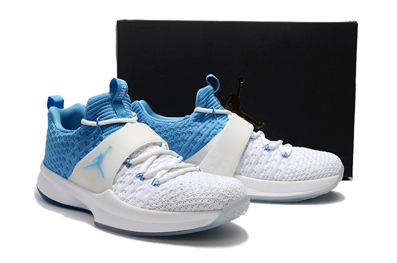 New Jordan Trainer II White Blue