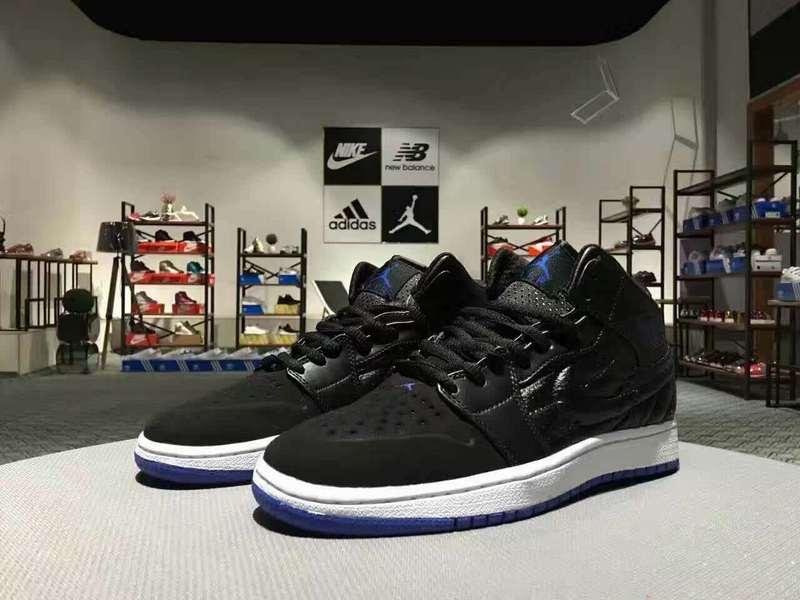 Newly Air Jordan 1 Retro Black White Shoes