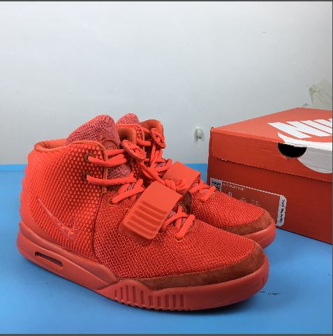 Nike Air Yeezy Red Shoes