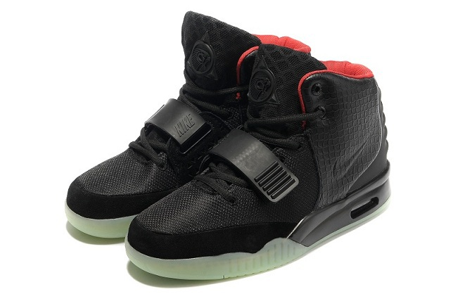 Nike Air Yeezy 2 Black Shoes