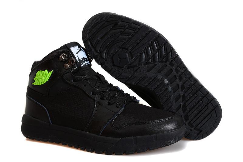 Nike Jordan 1 Trek All Black Climbing Shoes