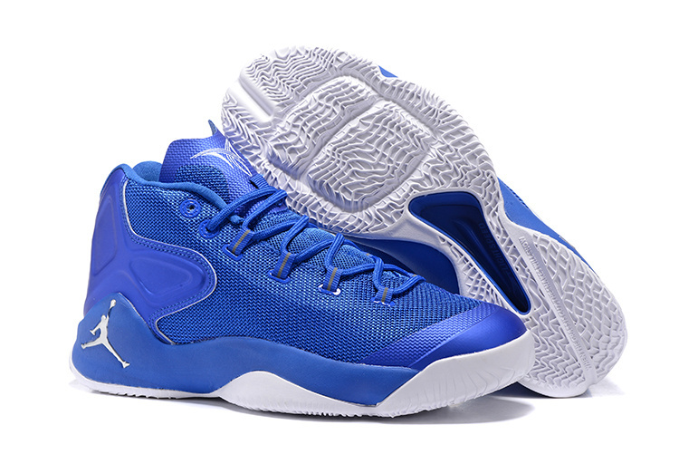 2016 Jordan Carmelo 12 Blue White Shoes