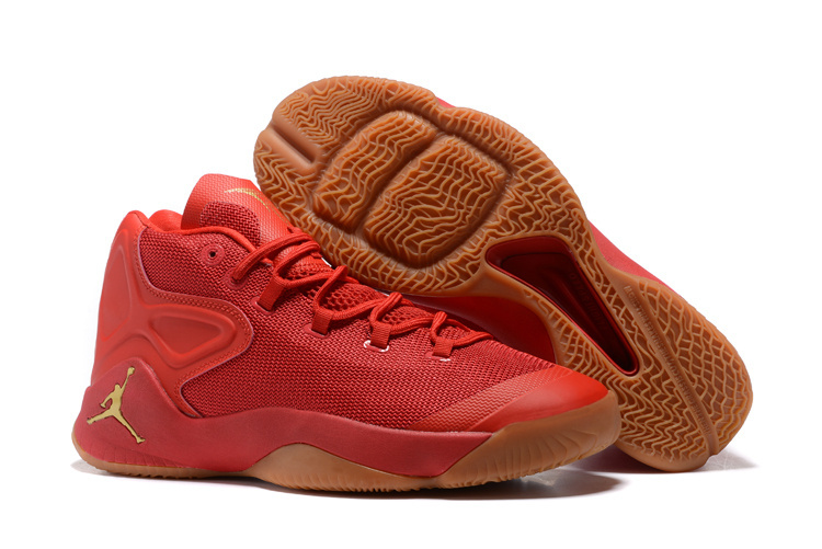 2016 Jordan Carmelo 12 Red Yellow Shoes