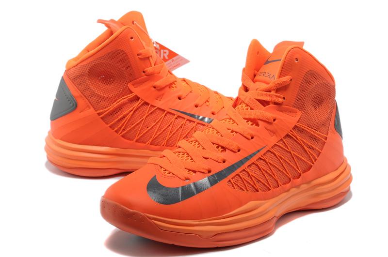 lebron shoe orange