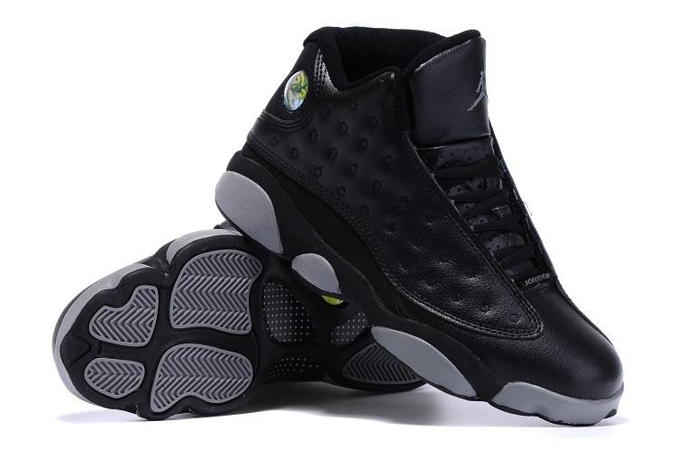 Original Air Jordan 13 Doernbeacher Black Grey Shoes