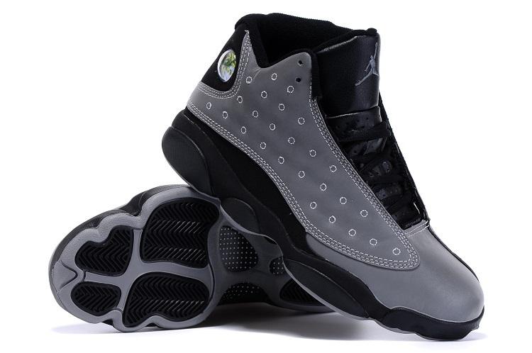 Original Air Jordan 13 Doernbeacher Grey Black Shoes