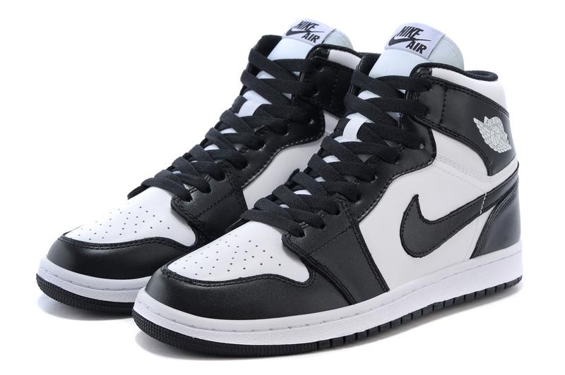 Original Jordan 1 OG Shoes Black White