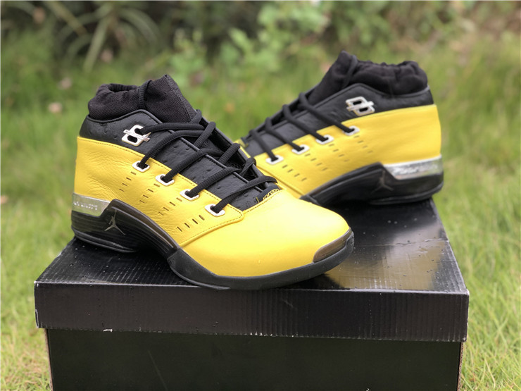 SoleFly x Air Jordan 17 Low Yellow Black Shoes