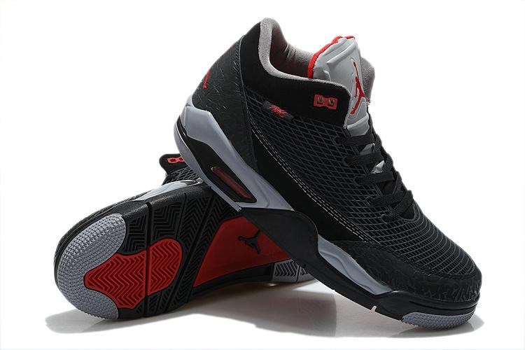 Special Air Jordan Flight Club 80S Blue Red Shoes