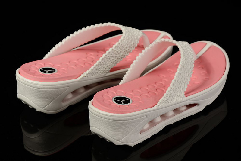 Summer Jordan Slipper White Pink For Women