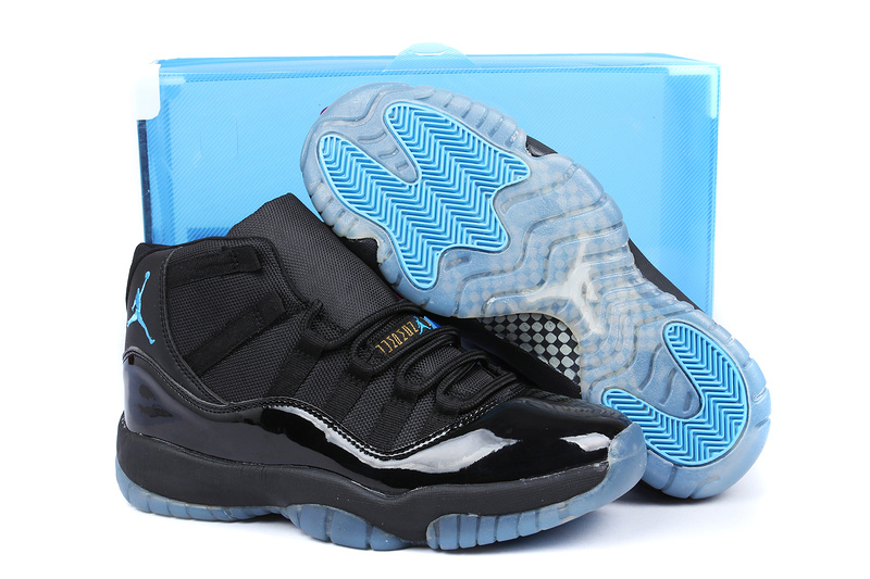 Superman Air Jordan 11 Edition All Black Shoes