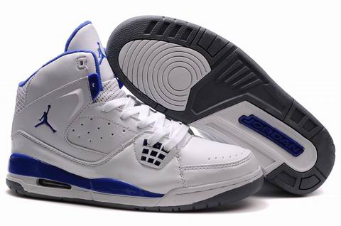 Air Jordan Jumpman Shoes White Blue Grey