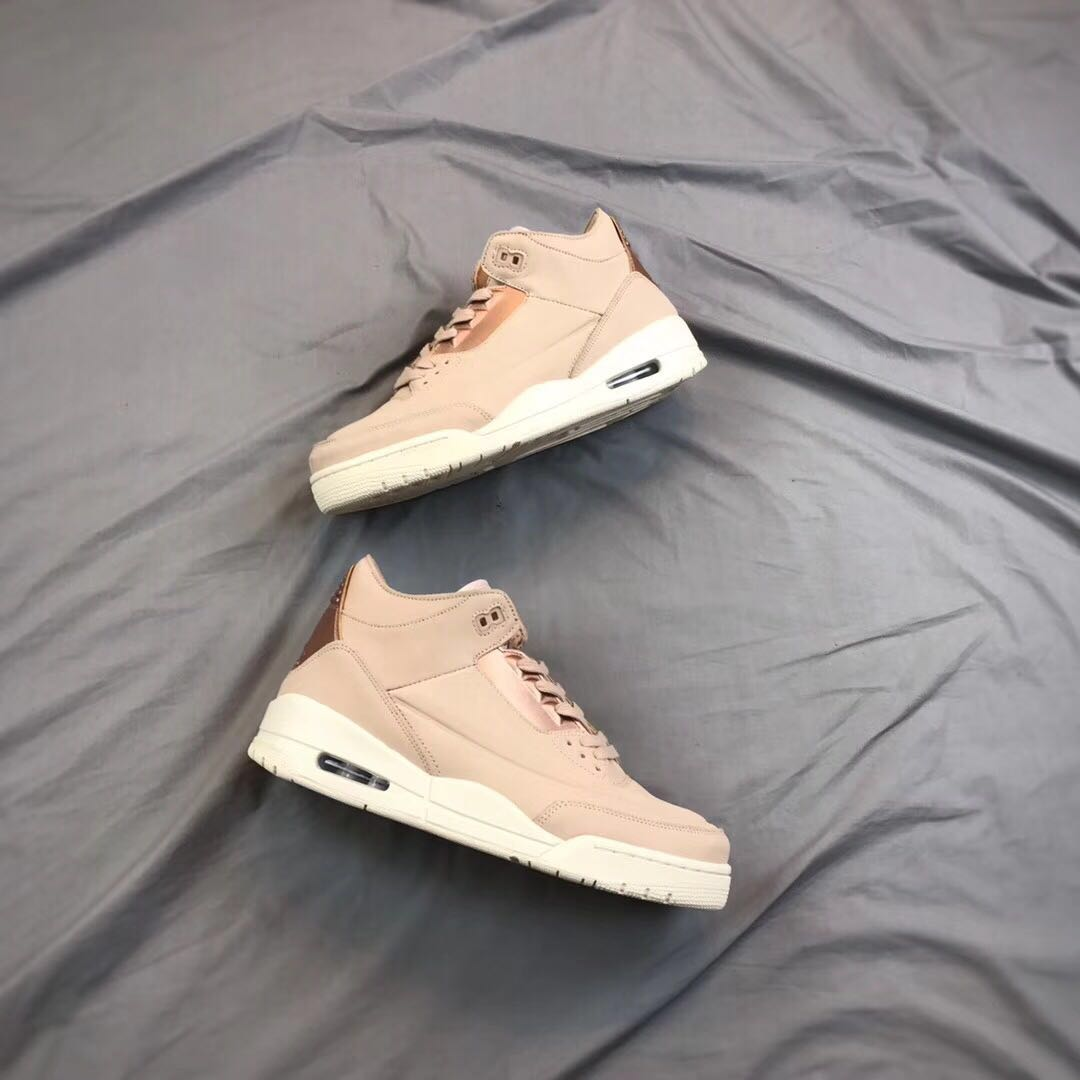 WMNS Air Jordan 3 SE Brown Shoes