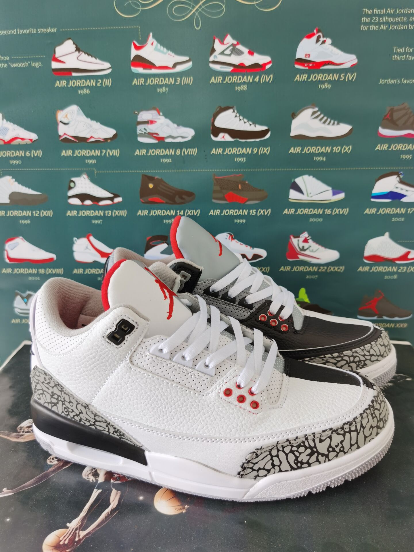 What the Jordan of AJ3 Shoes