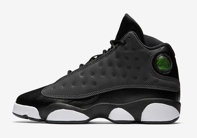 air jordan 13 gs black hyper peach white shoes