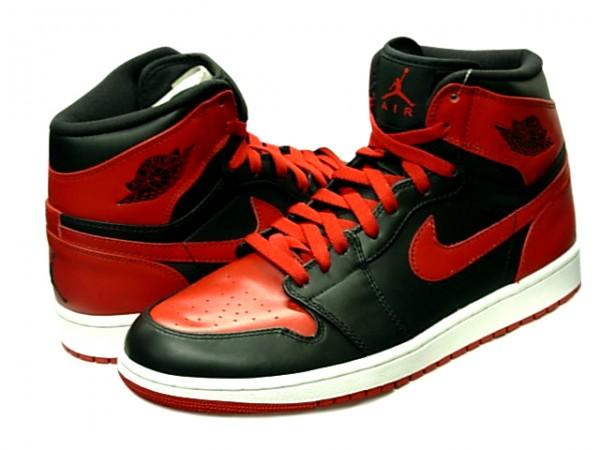 Jordan 1 Retro High DMP Bulls vs Celtics 60 Pack Black Varsity Red Shoes