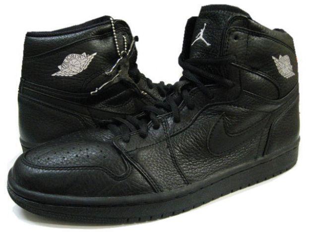 air jordan 1 all black