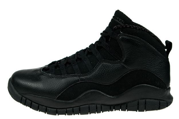 Jordan 10 Retro all black shoes