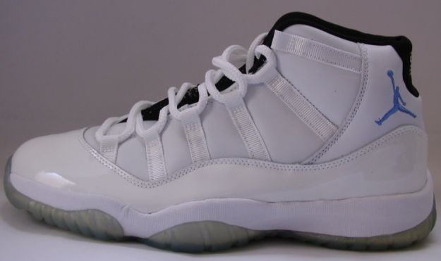 Jordan 11 Retro columbia all stars white columbia blue black