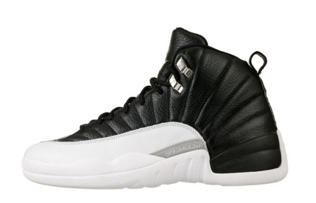 Jordan 12 Retro playoffs black white shoes