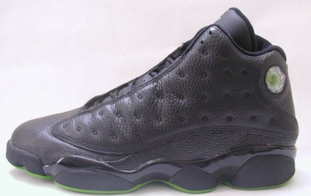 Jordan 13 Retro altitudes black altitude green shoes