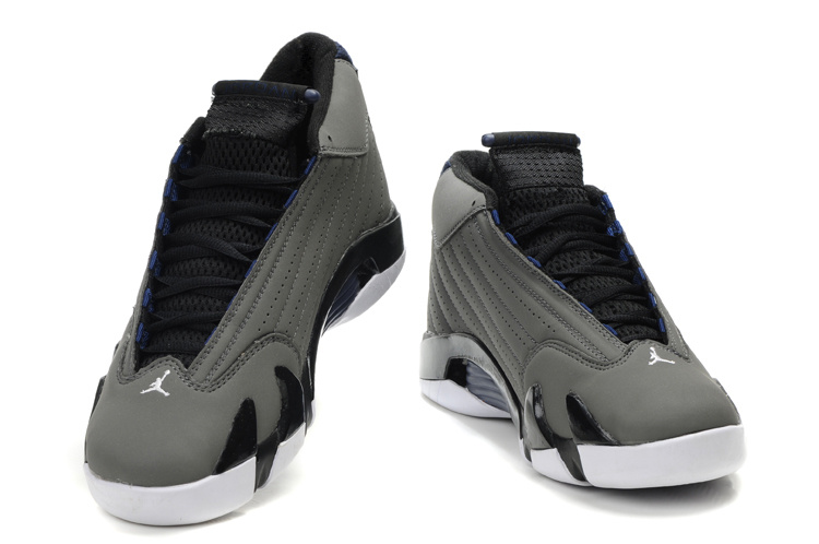 Jordan Retro 14 grey white shoes
