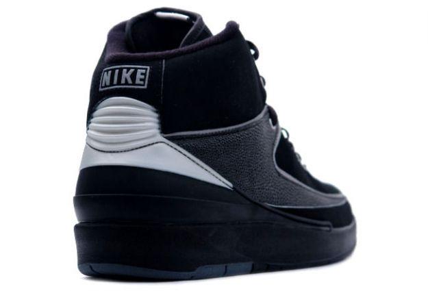 Air Jordan 2 Retro Black Chrome Shoes