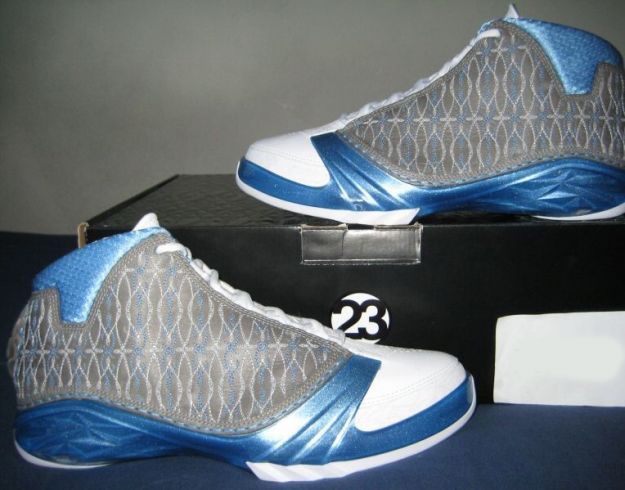 air jordan 23 premier white titanium university blue shoes
